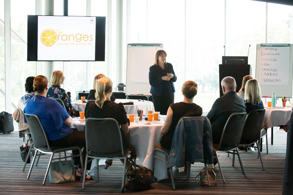 Training X Design oranges toolkil