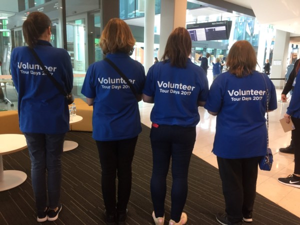SA Health Volunteers ready to give the community the tour of a lifetime. Storytellers indeed!