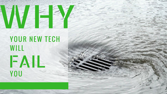 Why will your new tech fail you? Training is key to transformation