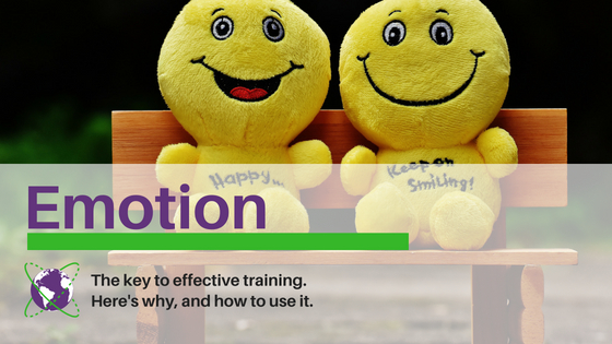 Emotion is the key to effective training. Here's why and how to use it.